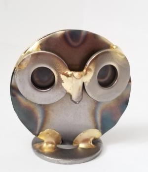 Round Head Owl