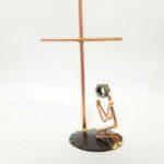 Praying man w/Cross
